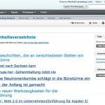 Screenshot von socialtext.net